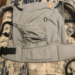Gently use/like new Tula toddler carrier with hood